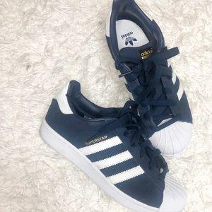 Adidas Superstars. Youth 5 women's 7/7.5 U.S.